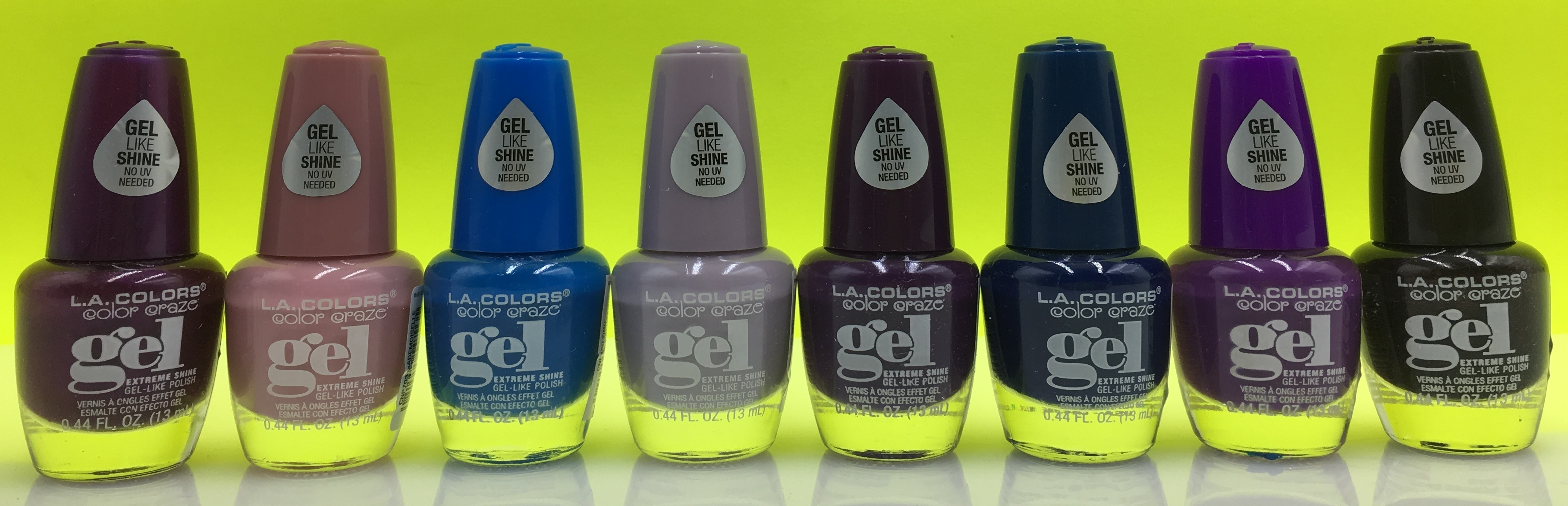 Beauty to Go » Esmalte Gel Extreme Shine L.A. Colors